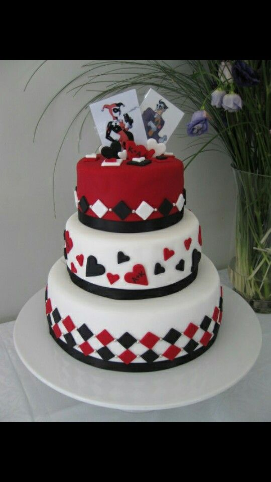 Bizcocho Bizcochos En 2019 Joker Cake Batman Wedding