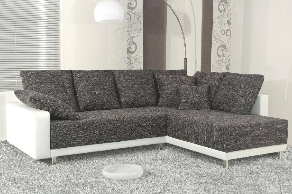 Funktionsecke Austin Weiss Dunkelgrau Online Bei Poco Kaufen Haus Deko Sofa Mit Schlaffunktion Moderne Couch