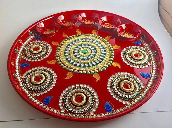 12 pooja thali diwali decoration worship tray wedding 12 pooja thali diwali decoration worship tray wedding diwali decorating and diwali decorations junglespirit Image collections