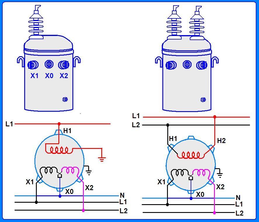 conexiones de transformadores monofásicos.jpg (Imagen JPEG, 887 ...