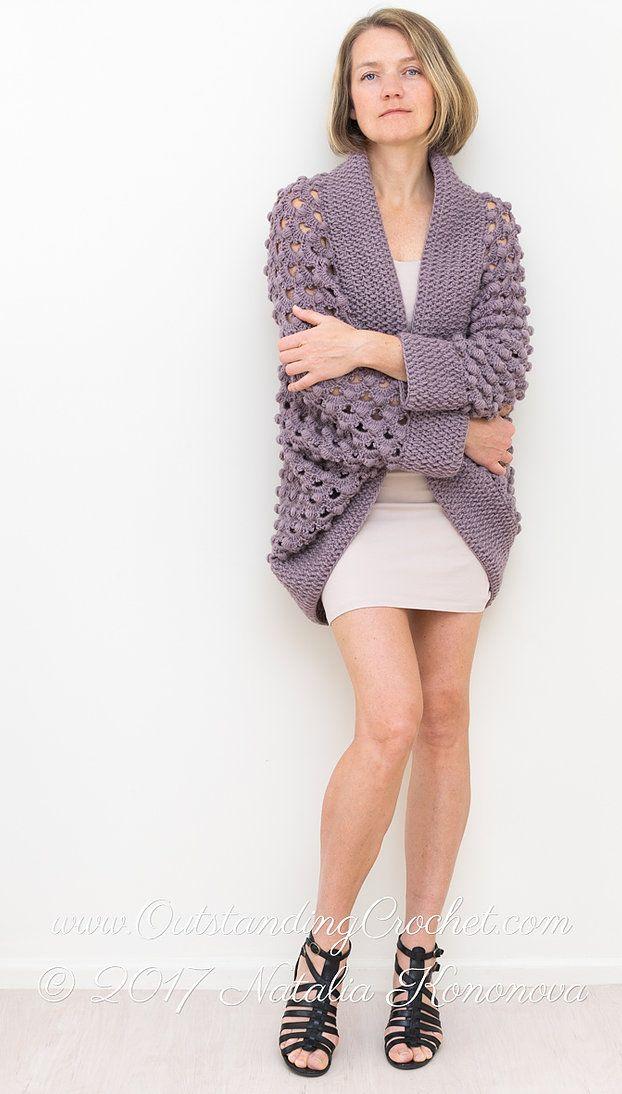 Ash Rose Shrug Crochet Pattern | вязаная красота | Pinterest | Labores