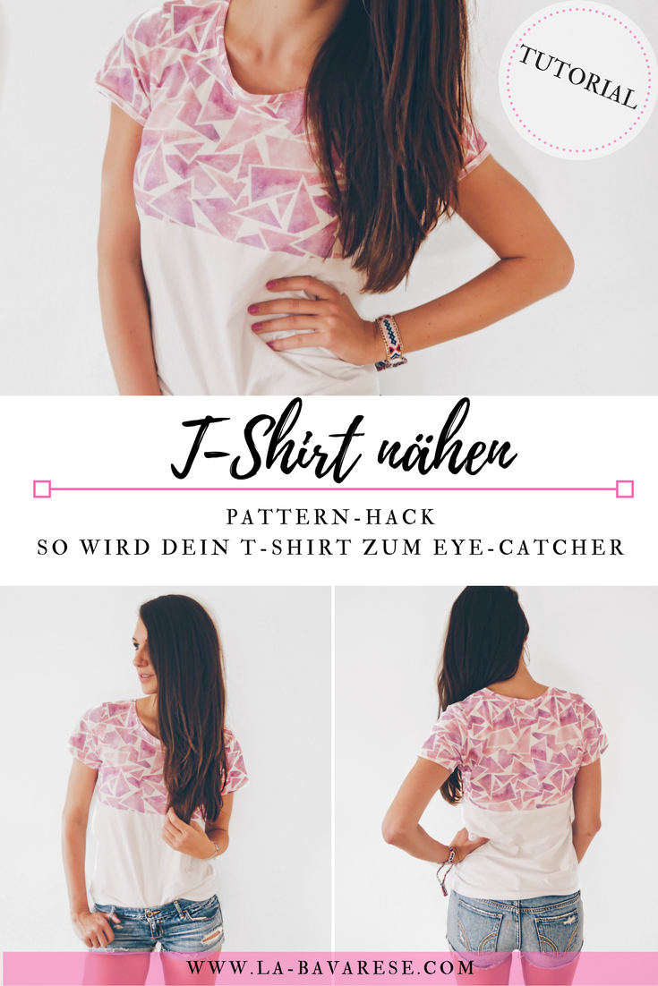 T-Shirt nähen - #swag von Fashiontamtam | Shirts nähen, Shirts und ...