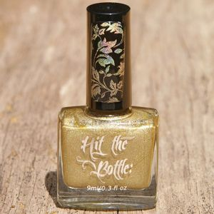 """Hit the Bottle """"A Glint of Gold"""" Stamping Polish"""