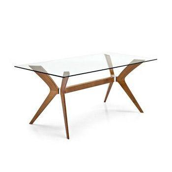 Table en bois et en verre Tokyo 123meuble.com 1133 euros ...