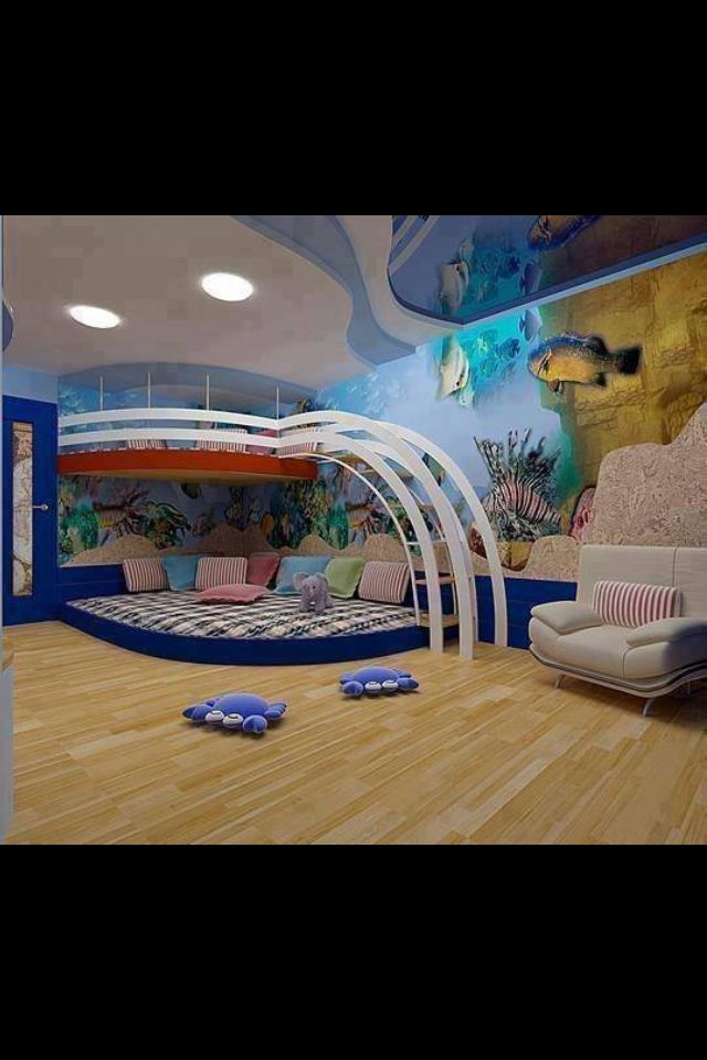 Do It Yourself Home Design: These 32 Kids Rooms Are So Epic That Your Inner Child Will