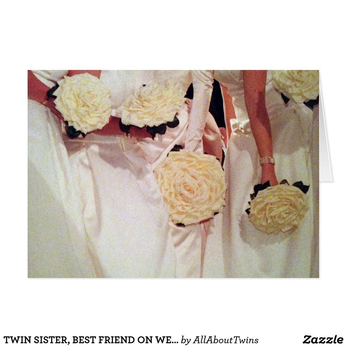 """Wedding Gift For Friend Who Has Everything: TWIN SISTER, ON YOUR WEDDING DAY IS A """"VERY SPECIAL"""
