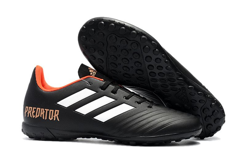 super popular 7cc3d f4a33 Cheap Adidas Predator Tango 18.4 TF Football Boots Black White Orange Adidas  Predator, Football Boots
