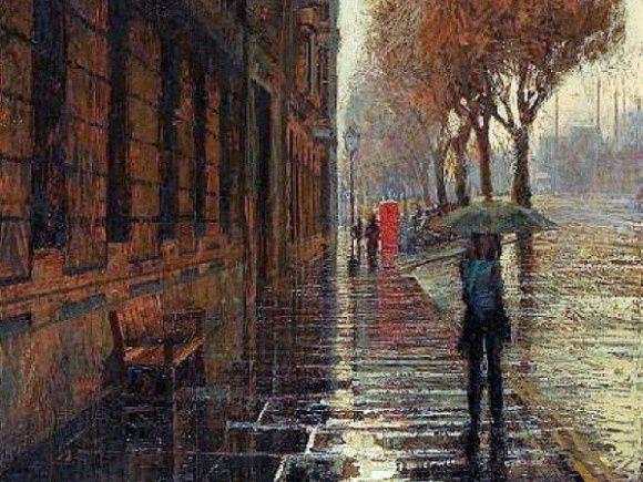 самые красивые фото листопада в дождь - Поиск в Google
