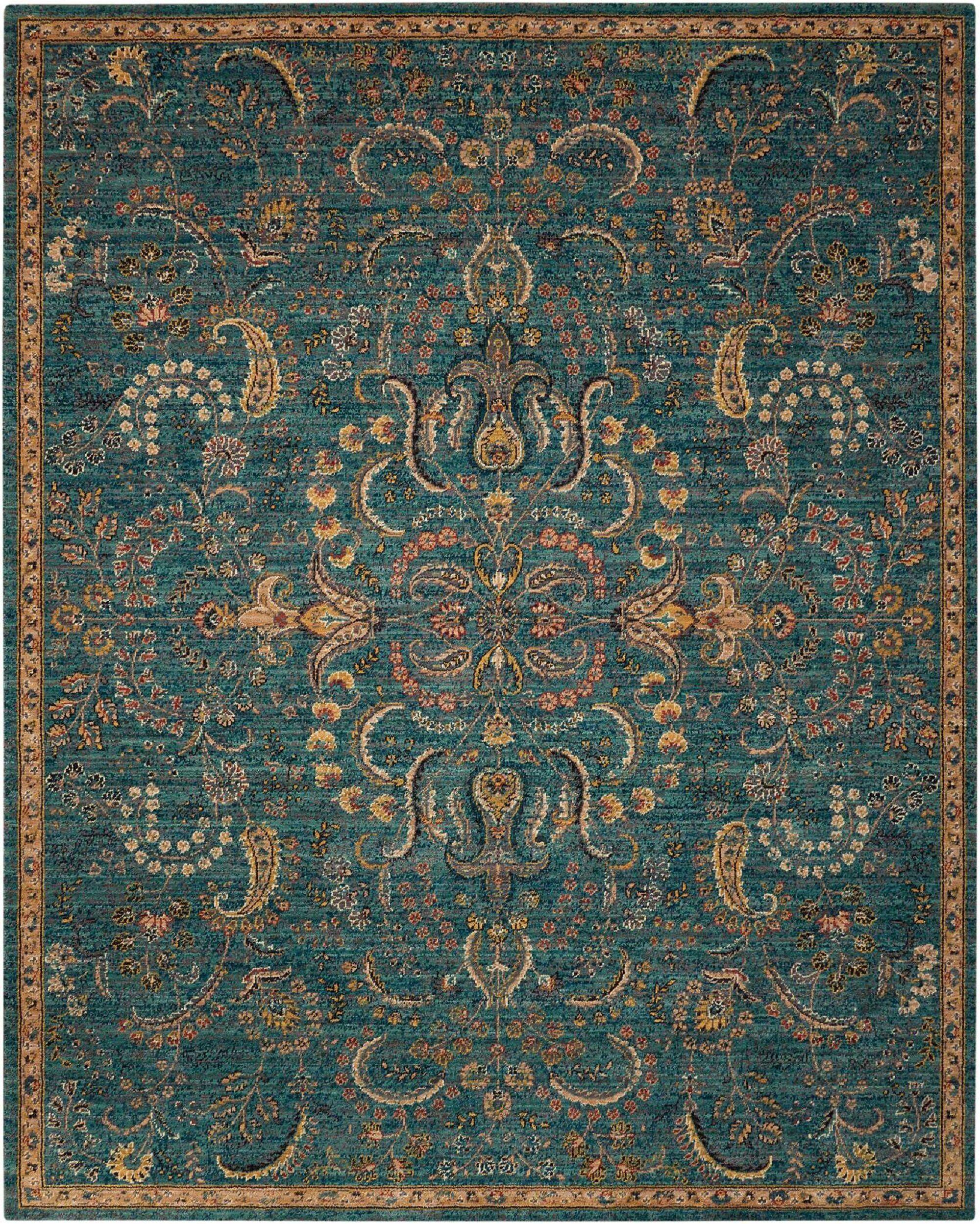 Maitland Oriental Blue Area Rug Teal Rug Teal Area Rug Blue Carpet Bedroom