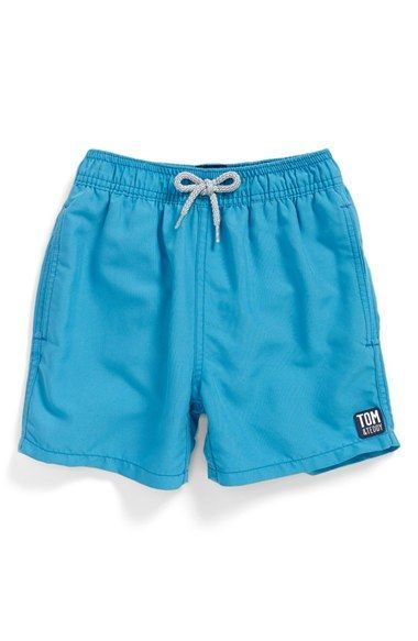 Tom & Teddy Swim Trunks (Toddler Boys, Little Boys & Big Boys)