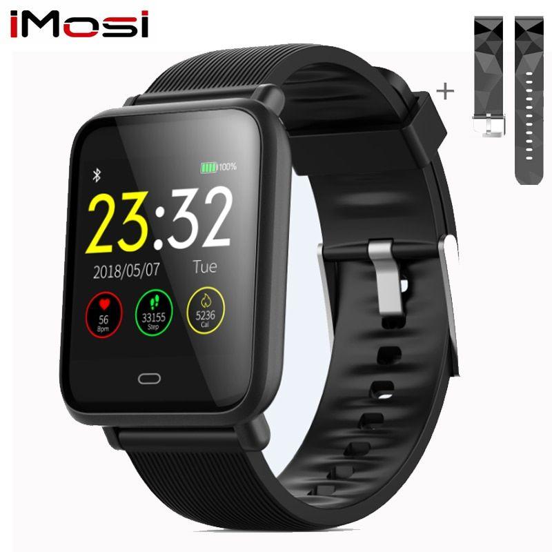 2019 New Smart Watch Women Men Ip67 Waterproof Sport Watch Fitness Bracelet Heart Rate Blood Pressure Monitor Touch Smartwatch Latest Technology Smart Electronics Consumer Electronics