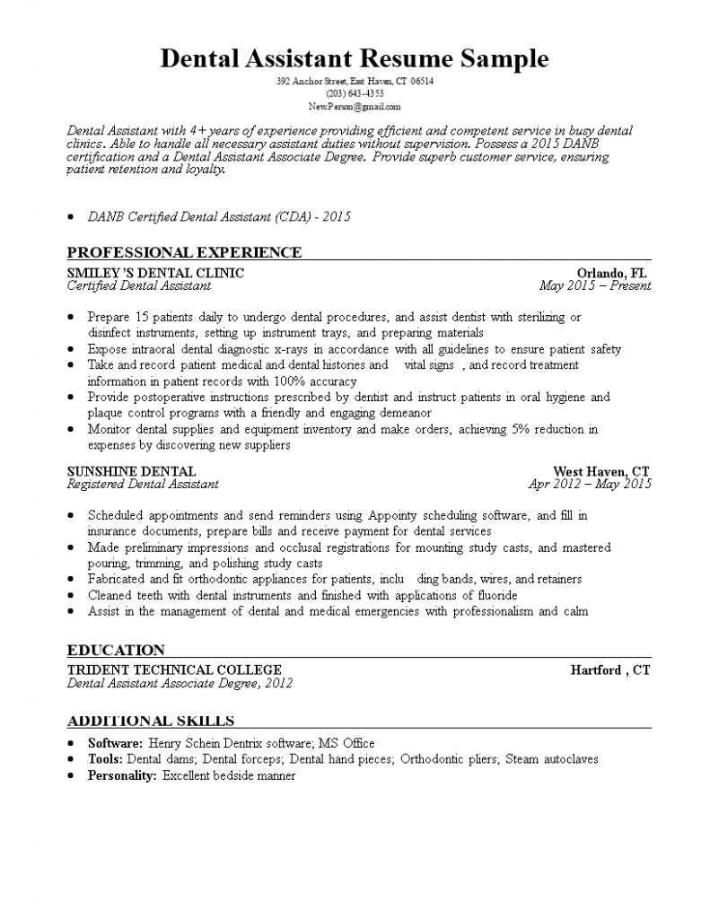 Dental Assistant Resume No Experience Examples 2021 In 2021 Resume No Experience Administrative Assistant Jobs Administrative Assistant Cover Letter