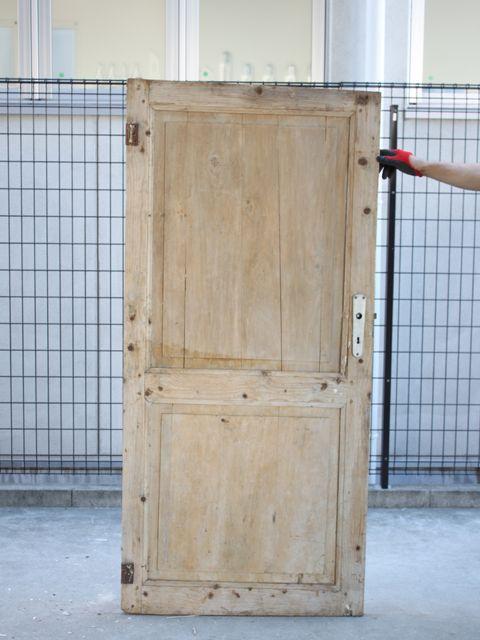 ウッドドア アンティークステンドグラス アンティークドア