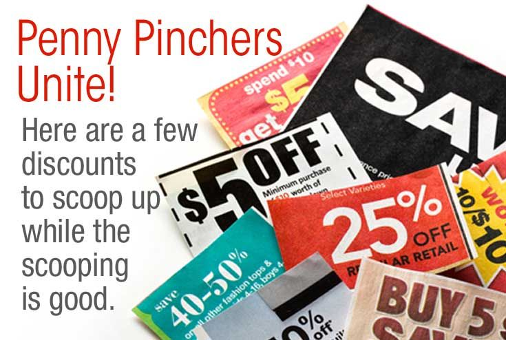 Penny Pinchers Unite Discounts For Seniors Are Out There Coupon
