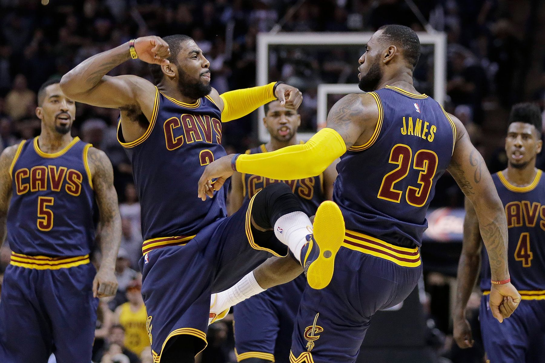 0b087865a987 The Cleveland Cavaliers Win the 2016 NBA Championship