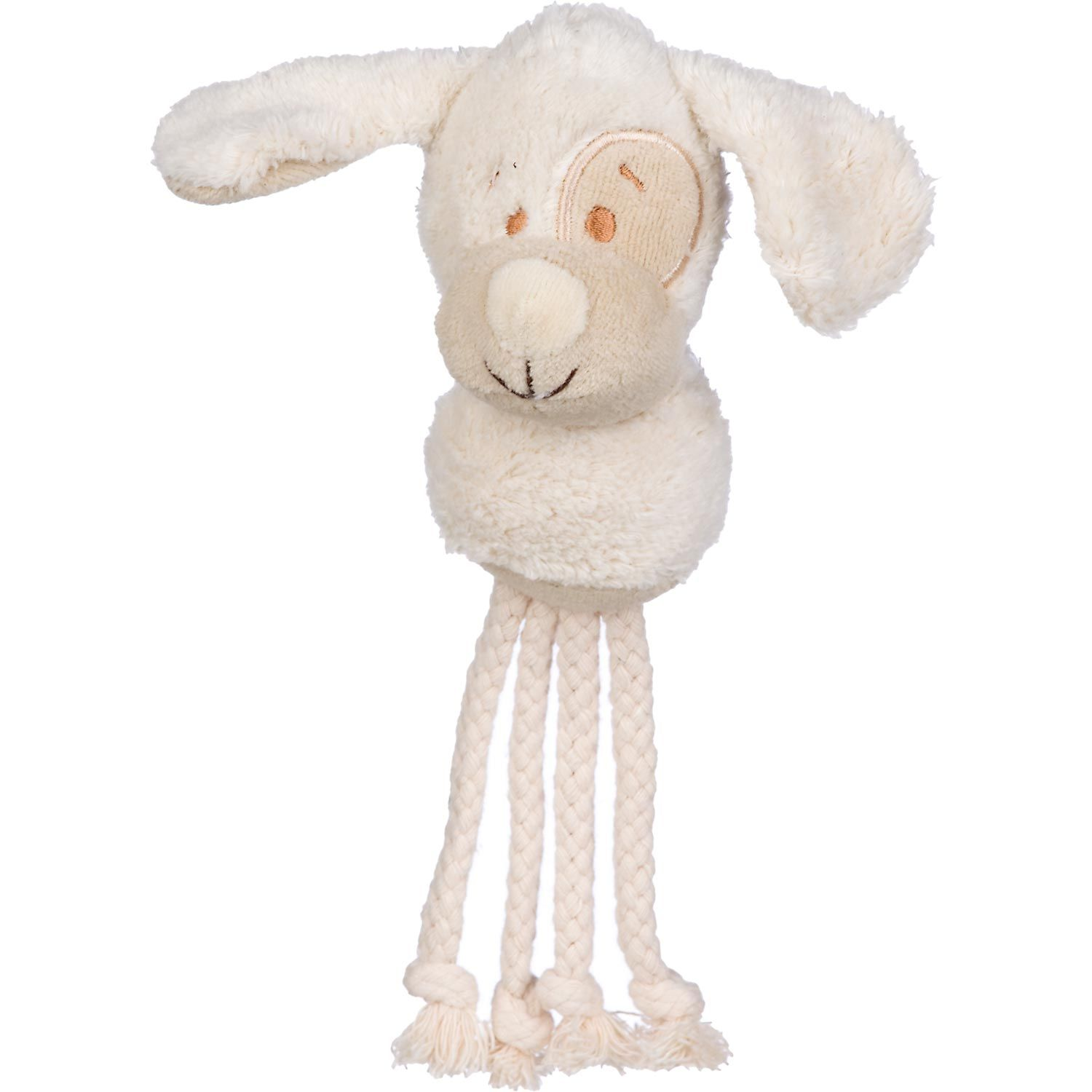Planet Petco Plush Dog Head With Rope Dog Toy Rope Dog Toys
