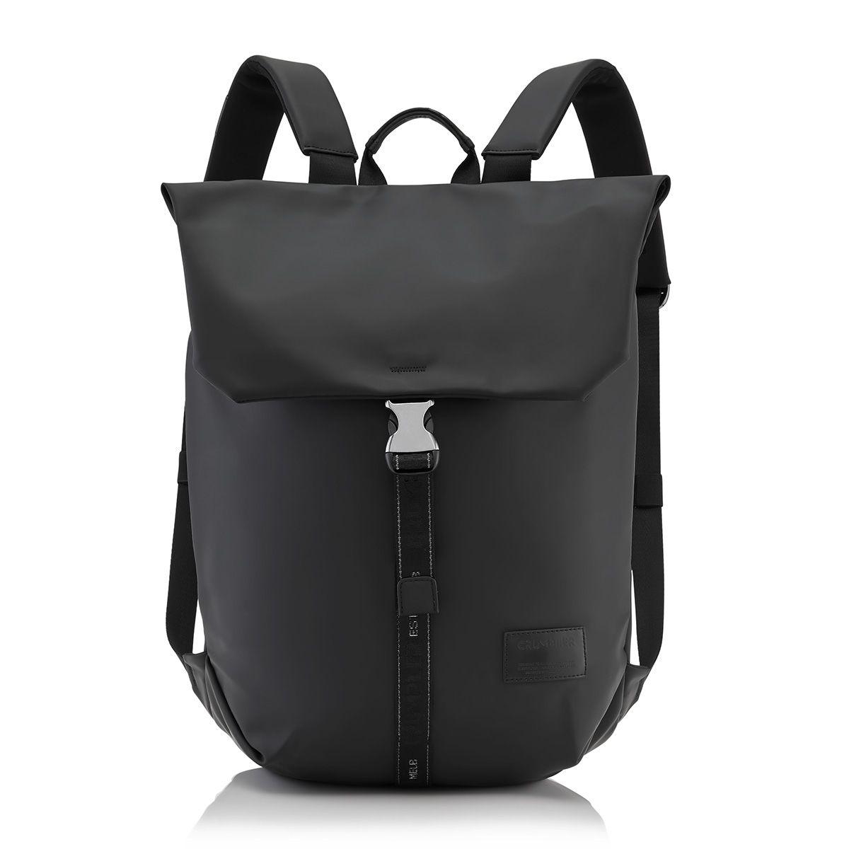 Crumpler backpack sprout black backpacks leather