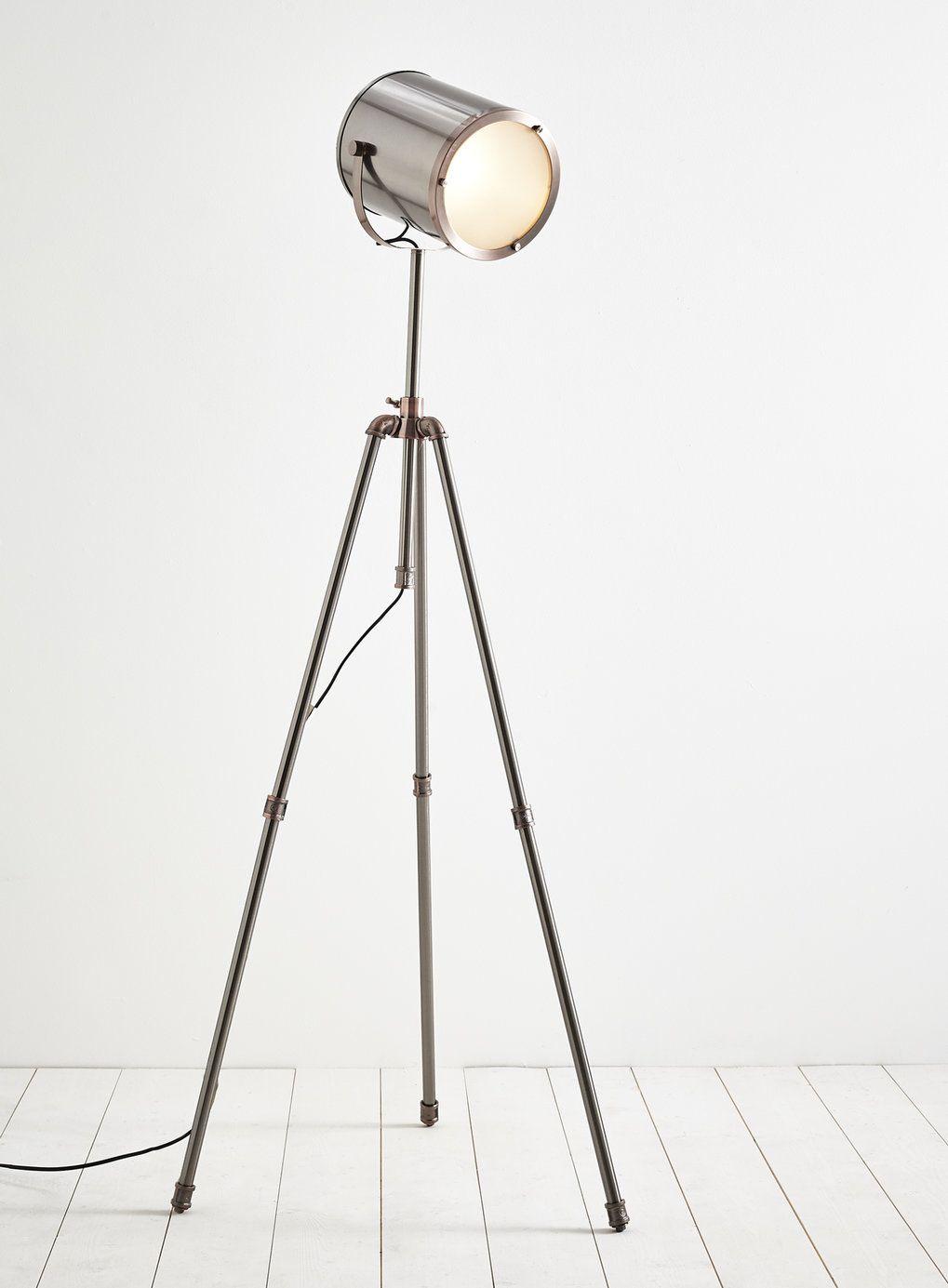 Photo 2 of Isaac camera tripod floor lamp   Lighting   Pinterest ...