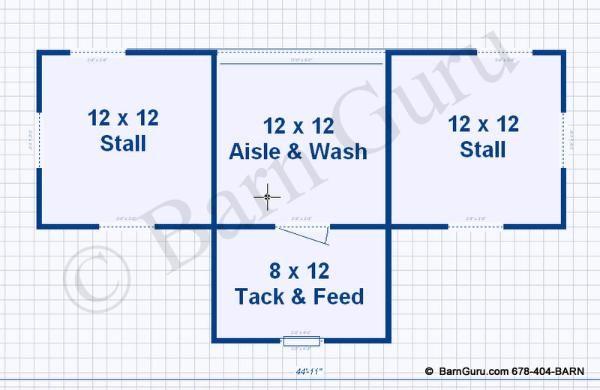 Barn Plans 2 Stall Horse Barn Design Floor Plan Horse Barn Designs Horse Barn Plans Small Horse Barns