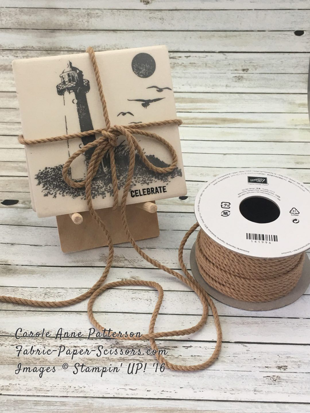 A gift in the making high tide coasters awesome tips coasters ceramic bisque tiles using high tide stamp set from stampin up dailygadgetfo Choice Image