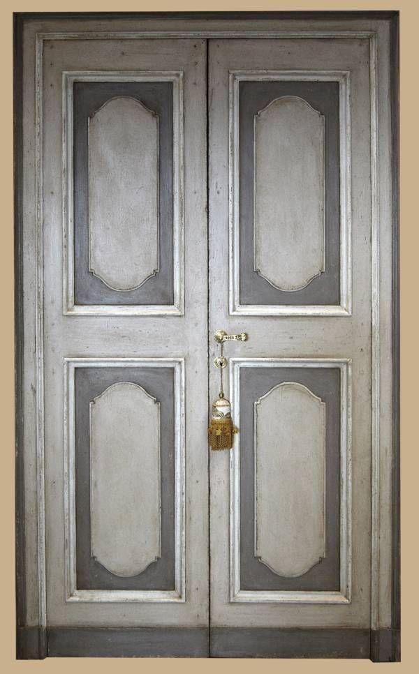 RIPRODUZIONI DI PORTE DIPINTE in stile antico - Porte del ...