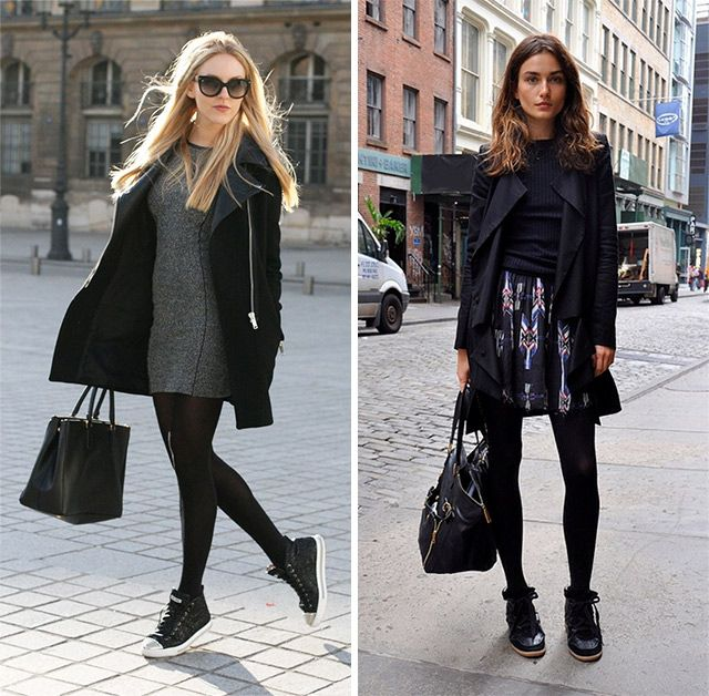How To Wear The Sneakers Trend Trending Sneakers Fashion How To Wear