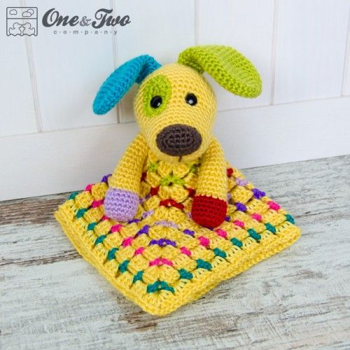 Scrappy the Happy Puppy Lovey and Amigurumi Crochet Patterns Pack ...