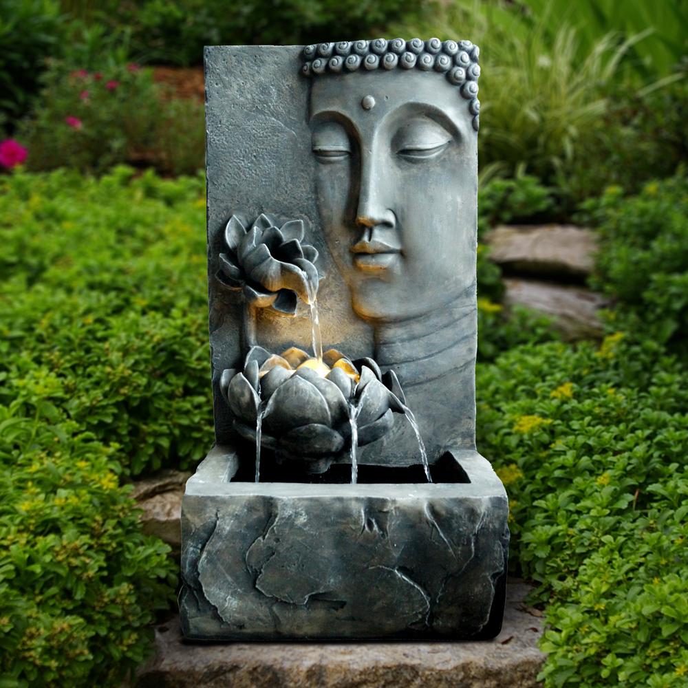Buddha AD97899-lifestyle | Buddha statue garden, Buddha ...