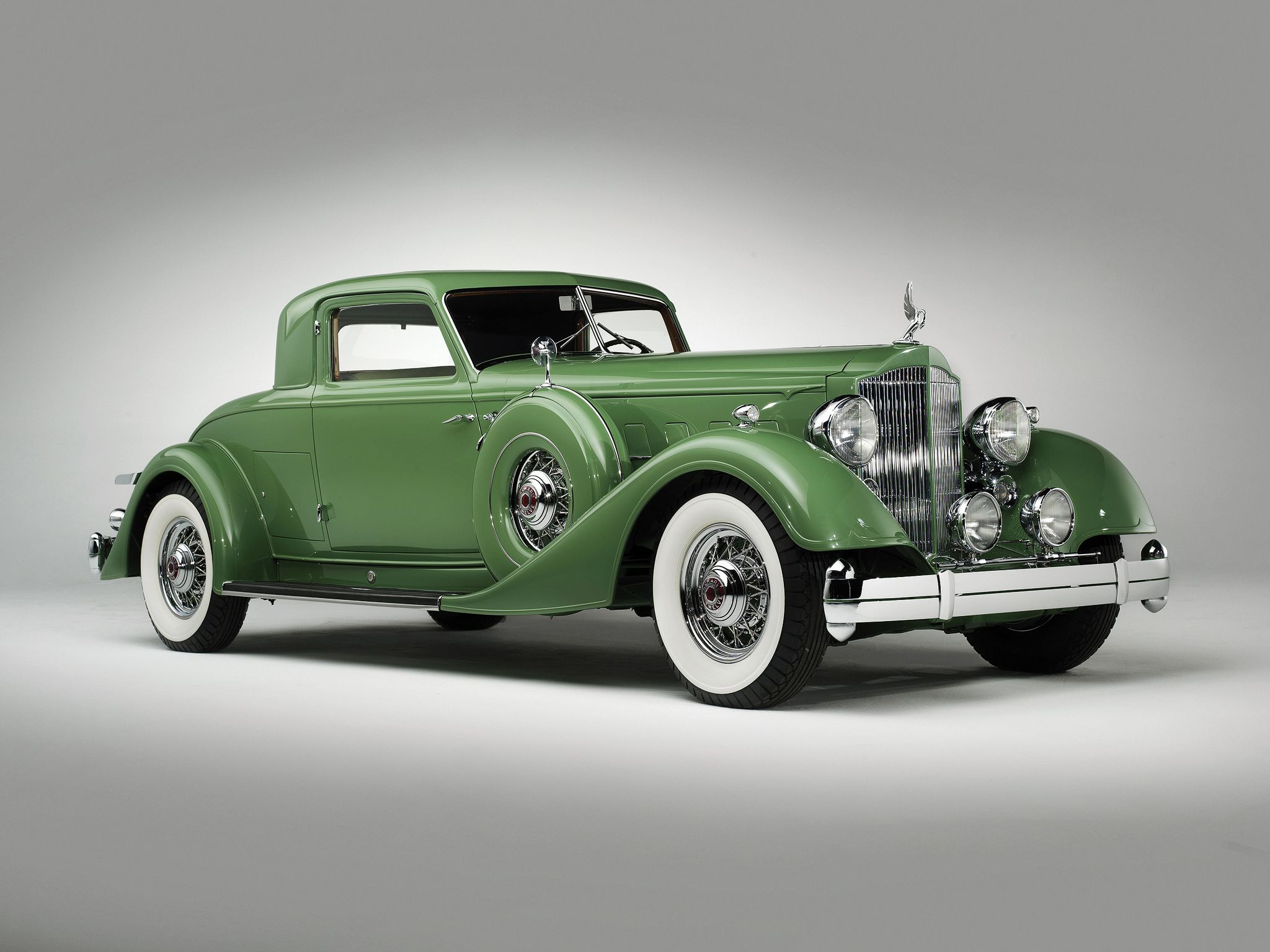 1934 Packard Eight 1101 Coupe Roadster | S71 | Dallas 2017