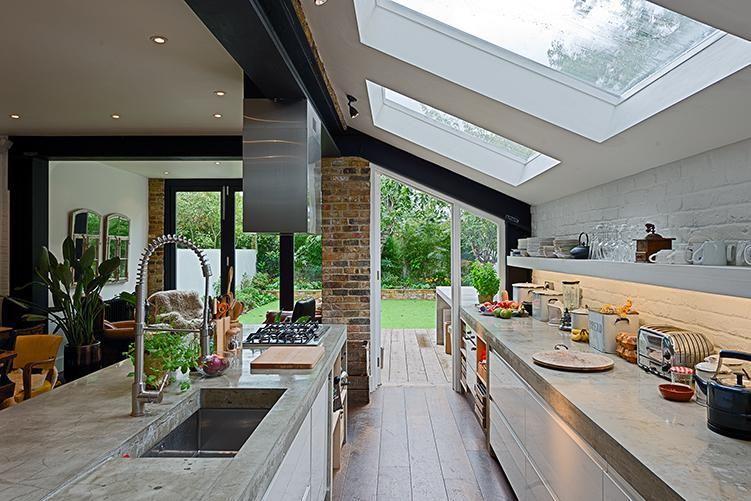 Keuken Met Dakraam : Glazen dak boven keuken? summerhome