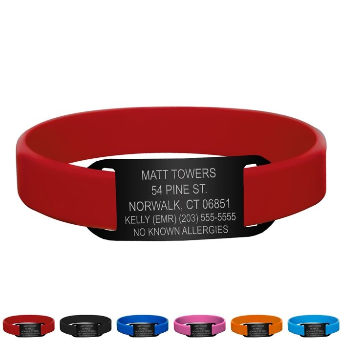 Running Id Bracelet Should Probably Get One Of These Since I Seem To Be Sticking This Whole Thing
