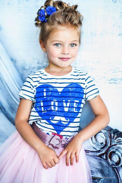 УВЕЛИЧИТЬ enfants Coiffure fillette, Portrait enfant