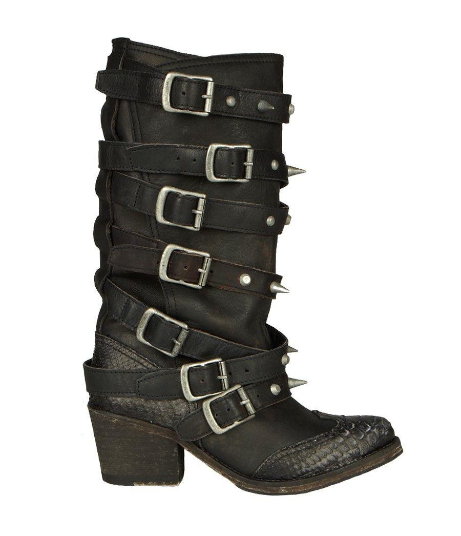 6e319044800 Cowboy Stud Boot, Women, Footwear, AllSaints Spitalfields | My Style ...