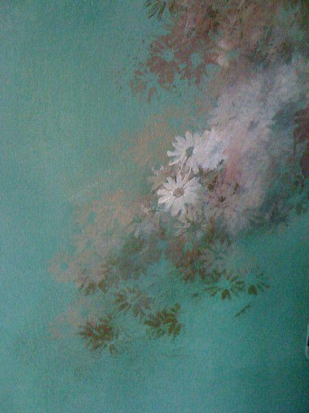 pittura a calce su muro