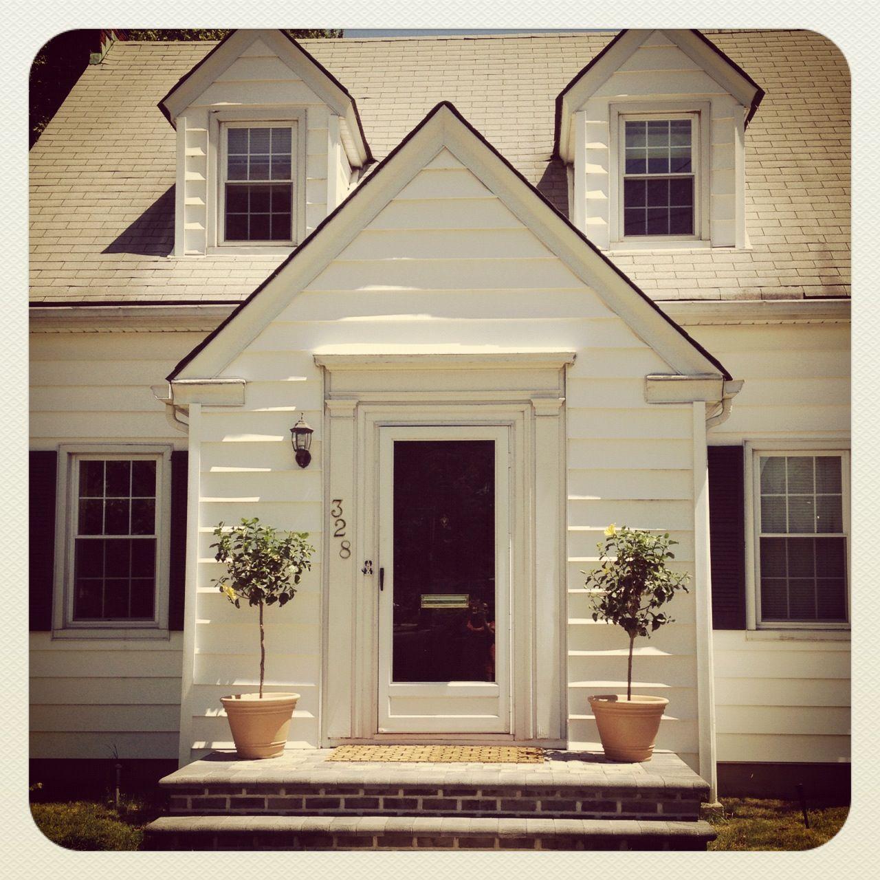 Pictures of front doors with storm doors - Black Door With White Storm Door