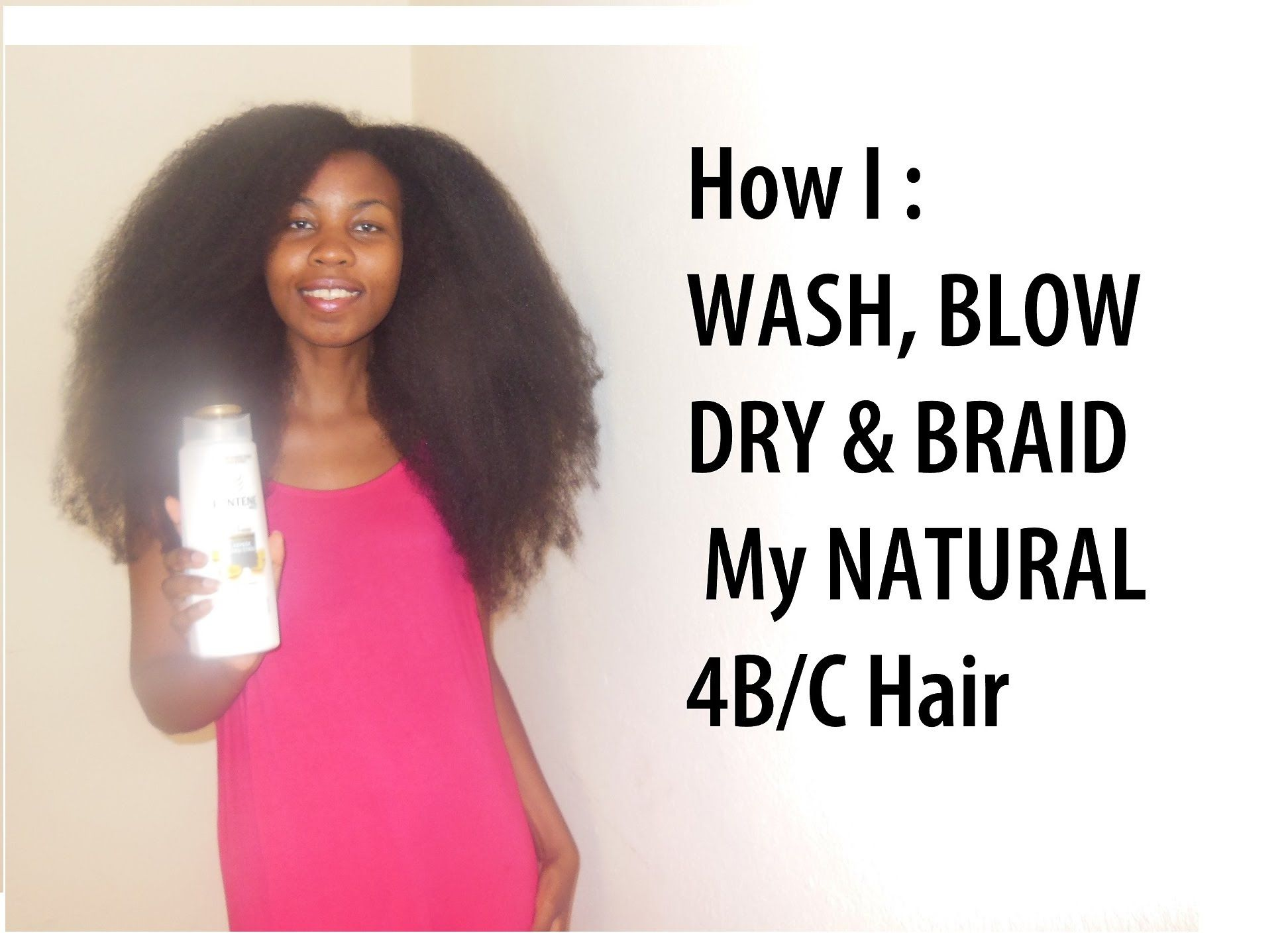 How I Wash Blow Dry And Braid My Natural 4b C Hair Routine Grow Lo Natural Hair Styles Blow Dry Natural Hair 4c Hairstyles