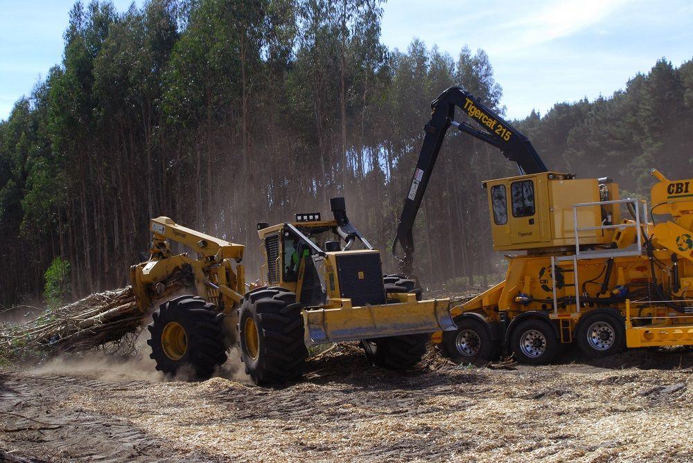 Tigercat 630D Skidder and 215 Loader | Skidders ...