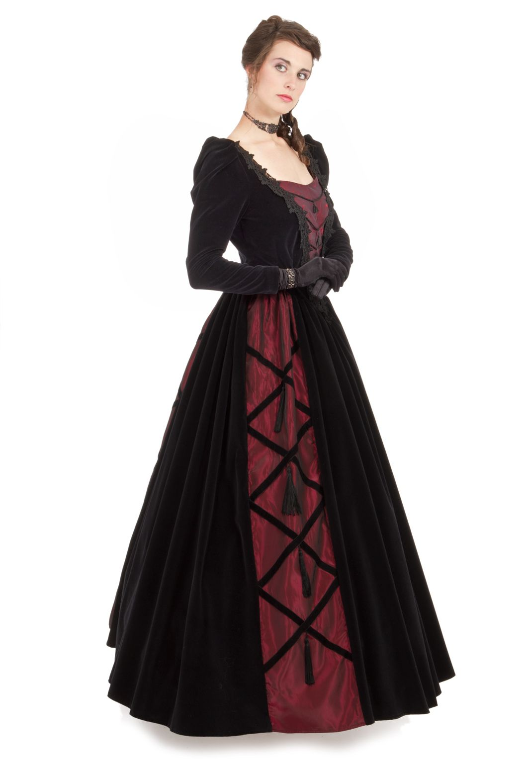 Noelle Victorian Ball Gown | Recollections | Medeival Dresses ...