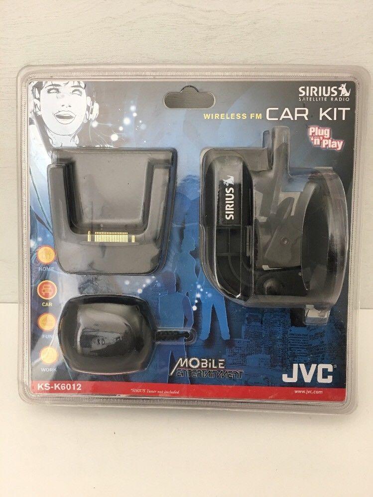 Car Electronics JVC KS-K6012 Wireless FM Car Kit for the KT-SR2000 ...