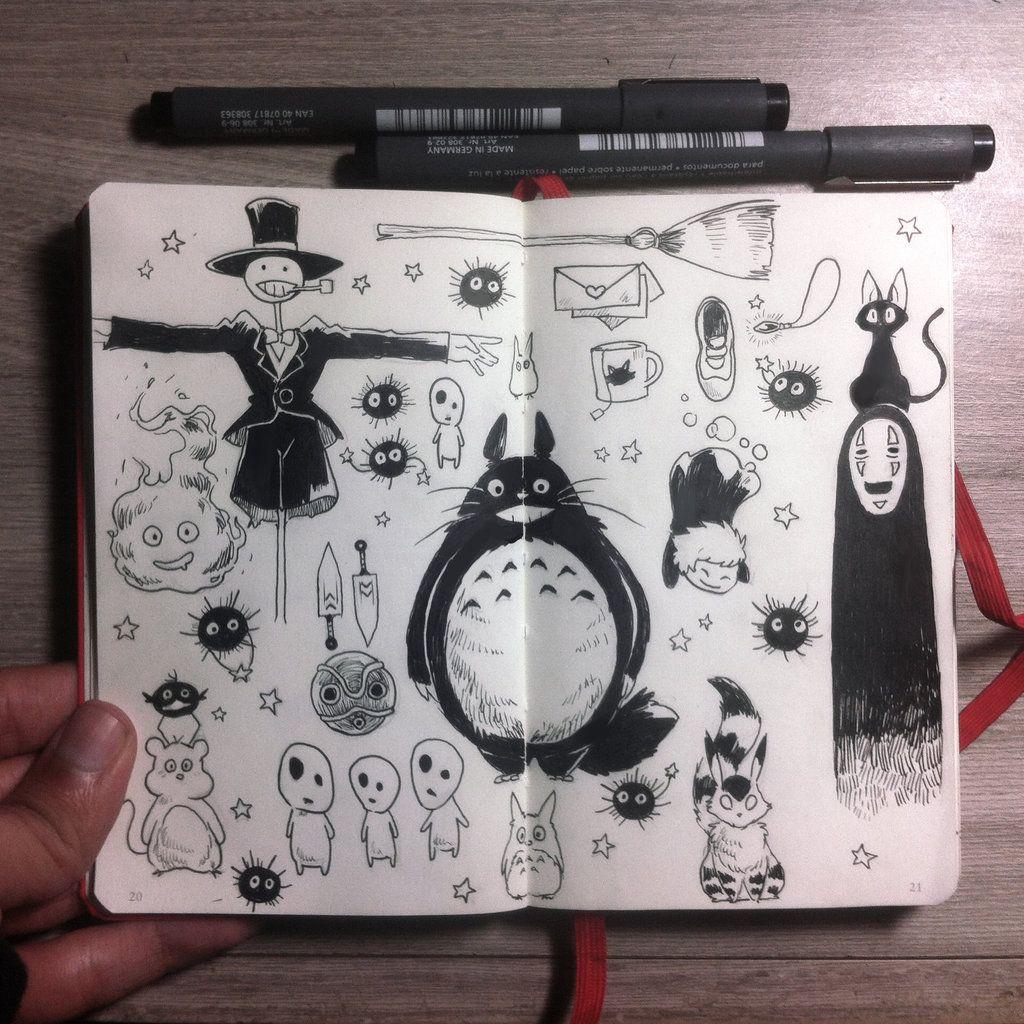 #5 Ghibli starter pack by Picolo-kun.deviantart.com on @DeviantArt