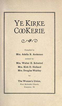 Ye Kirke Cookerie