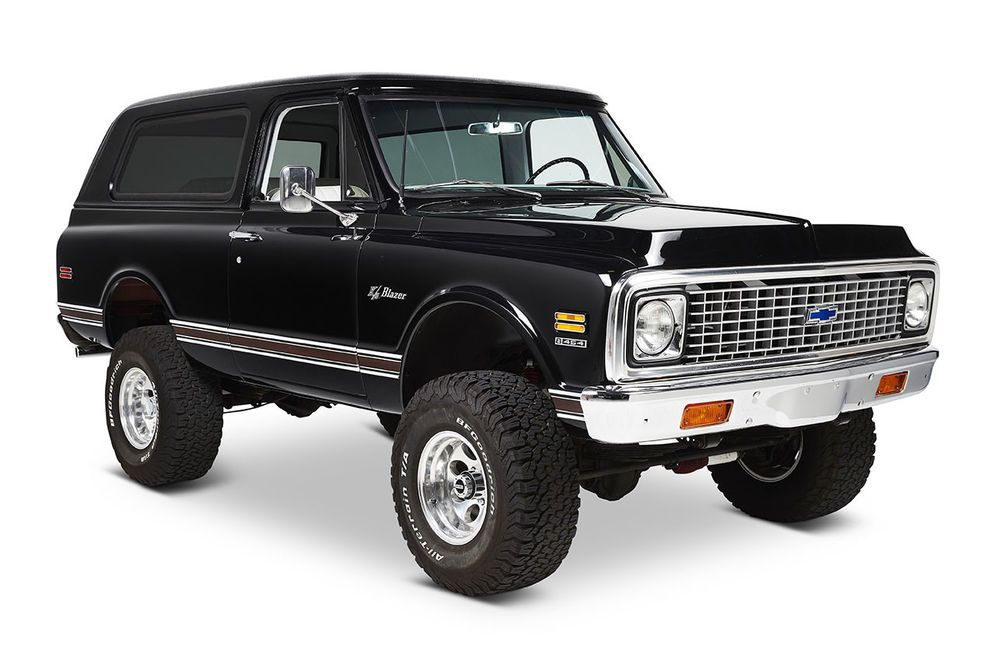 Classic Ford Broncos 1971 Chevrolet Blazer K5 Custom 4wd Vin Ke1815665722 Ohio U S A Chevrolet Chevrolet Blazer Chevy Trucks