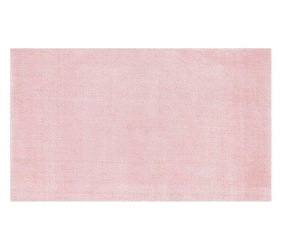 Dalton Rug 8x10 Feet Pearl Pink Pottery Barn