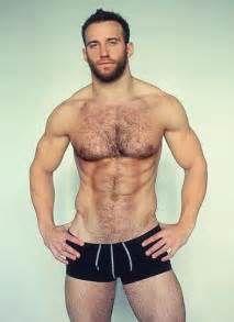 Hot shirtless gay men