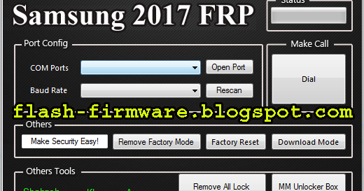 DownloadSamsung 2017 FRP Remove Tool Feature: Make Security