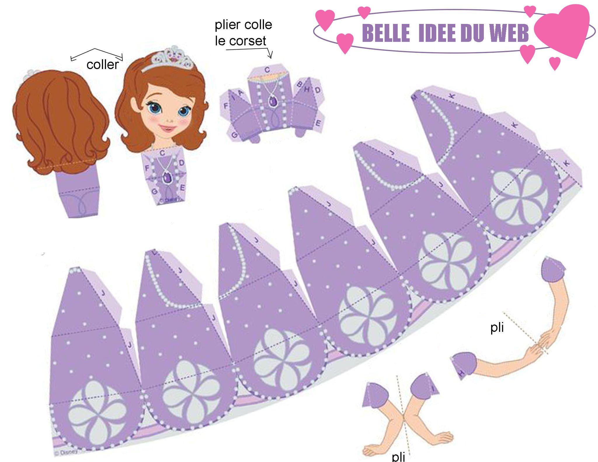 Princesse sofia dans son royaume 1 et 2 et 3 doudous for Image chateau princesse