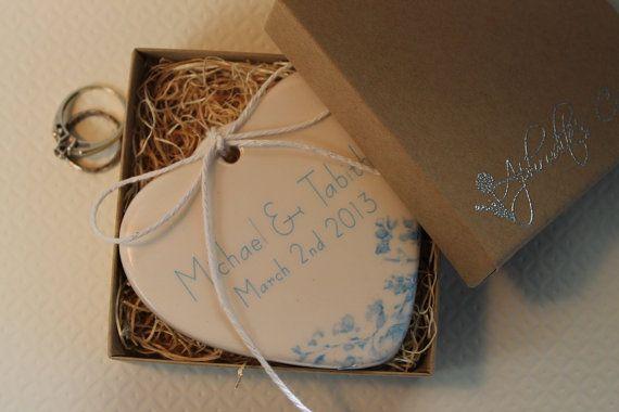 CUSTOM Porcelain Heart Ring Holder  The by aphroditescanvas, $28.00 Something Tiffany Blue