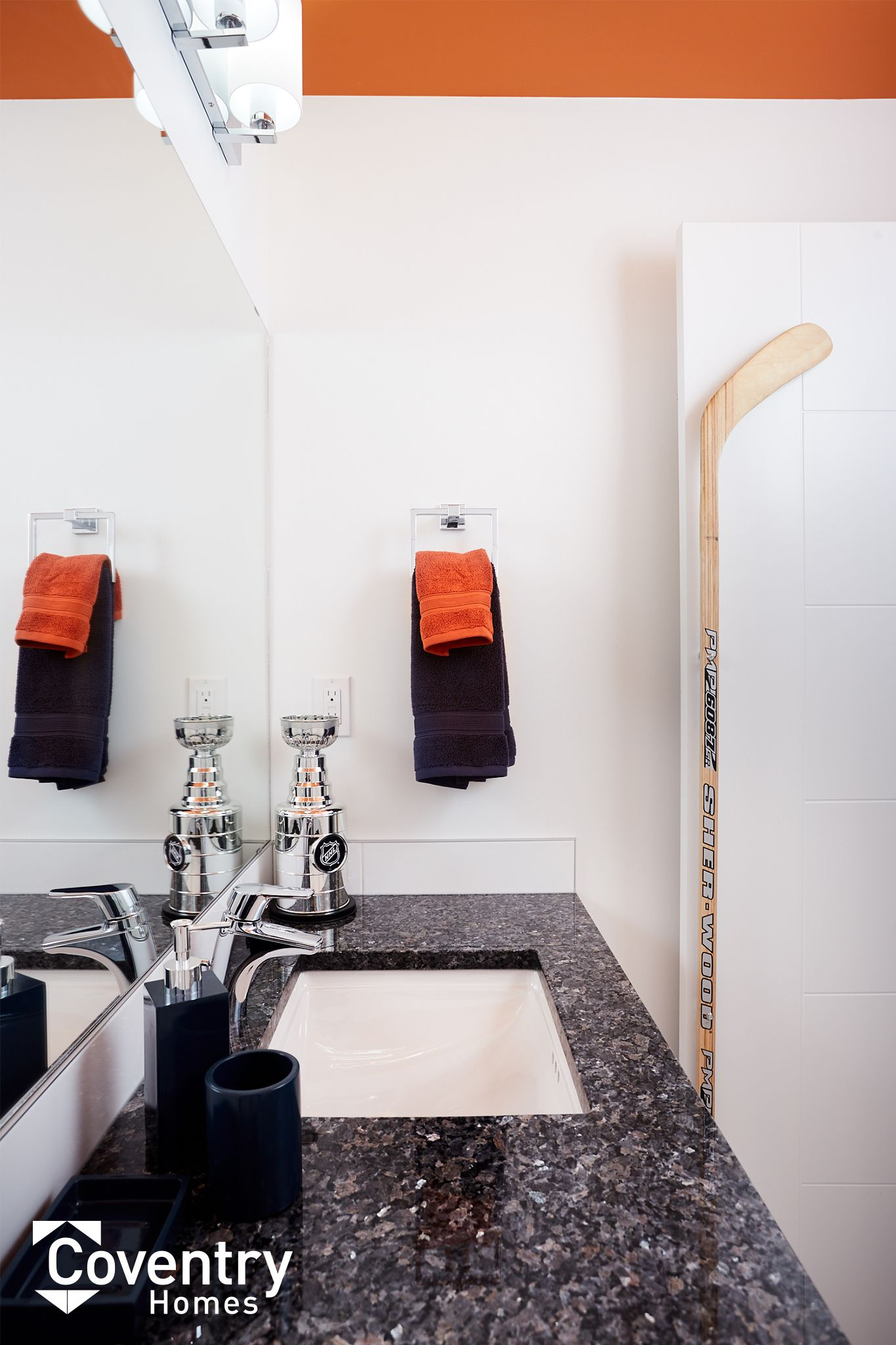 Coventry Homes Oilers Fan Cave - Paisley Showhome | Edmonton Oilers ...