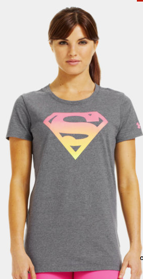 189a5a7b Under Armour Supergirl Semi-Fitted T-Shirt - #underarmour #supergirl # superman #alterego