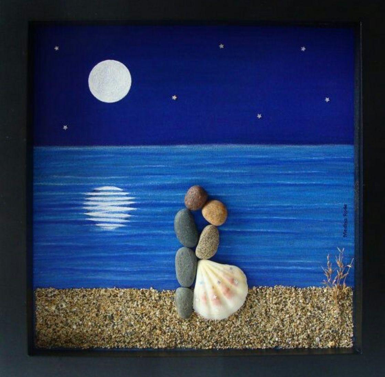 Pin von Trish G auf gettin\' crafty | Pinterest | Steinbilder ...